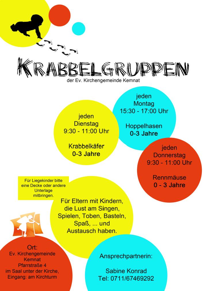 Krabbelgruppen Evangelische Kirchengemeinde Kemnat